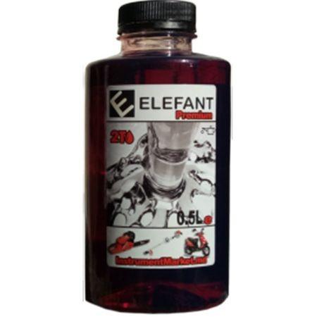 Ulei amestec , motor 2 Timpi ELEFANT 1L rosu [0]