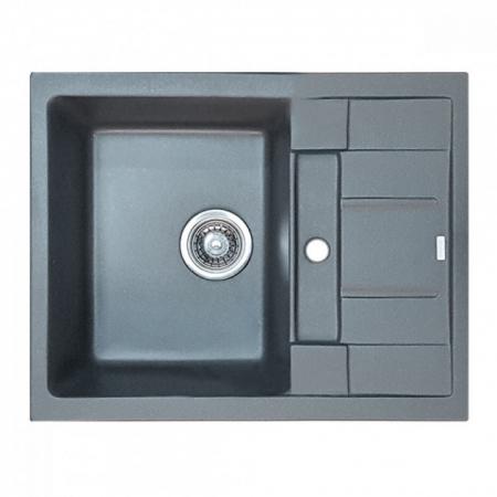 Chiuveta Bucatarie Granit Gri HB8210-G228 GRAY 620x500x200 [0]