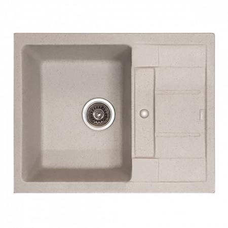Chiuveta Bucatarie Granit Bej HB8210-G322 Bej 620x500x200 [0]