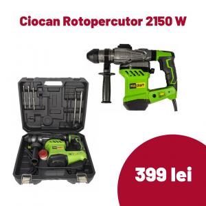 Ciocan Rotopercutor Procraft BH2150N 2150 W, 4.5 J, 850 rpm [0]
