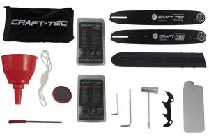 Drujba Craft-Tec, Germania, model CT-4000, 4CP, 2 Lame si 2 Lanturi [3]