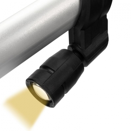 Slefuitor pentru perete extensibil cu aspirator Ø215 750W [5]