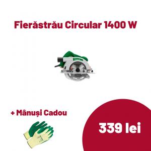 Fierastrau circular Status CP190C, 1400 W, 5000 RPM, 65 mm [0]