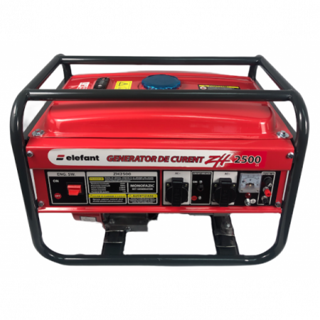 Generator pe Benzina Elefant ZH 2500, Monofazat, 2.2 kW, 230 V, 1 Cilindru, 4 timpi, Racire cu aer [2]