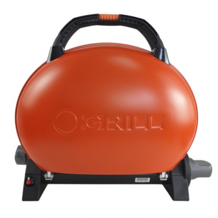 Gratar pentru Camping pe gaz O-Grill, Model 500, Rosu, 2.7 kW, 1065 cm² [7]
