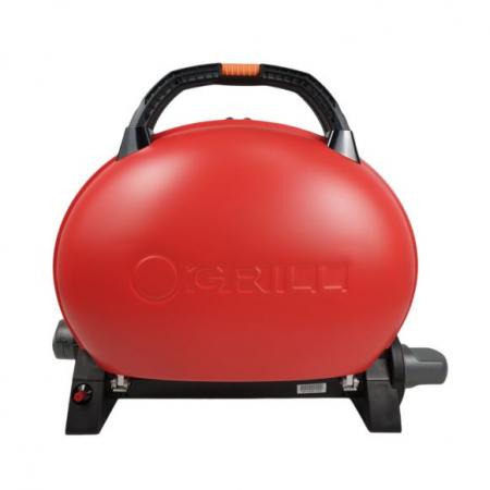 Gratar pentru Camping pe gaz O-Grill, Model 500, Rosu, 2.7 kW, 1065 cm² [1]
