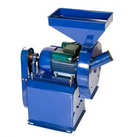 Moara electrica de cereale si stiuleti + Batoza de porumb TEMP 2.5 kW, 3000 rpm, 500 kg/h [1]