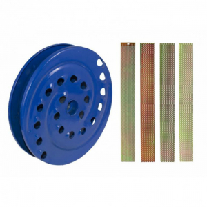 Moara Electrica + Razatoare de  Fructe SI Legume ,ELEFANT CM-1.1D, Motor cupru 3500W, 3000 RPM [3]