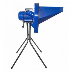 Moara Elefant pentru Cereale CM-2.0D , 3.5KW, 3000 rpm, albastra, cu suport inclus [1]
