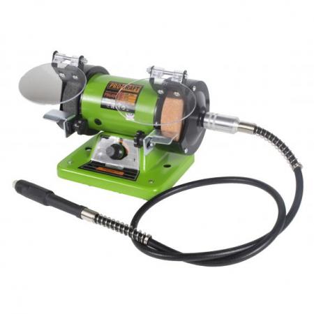 Polizor de banc cu gravor, 400 W, 10000 RPM, 75 mm, Procraft PBG 400 [1]