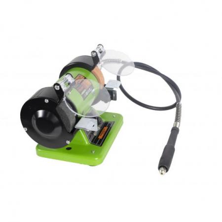Polizor de banc cu gravor, 400 W, 10000 RPM, 75 mm, Procraft PBG 400 [3]