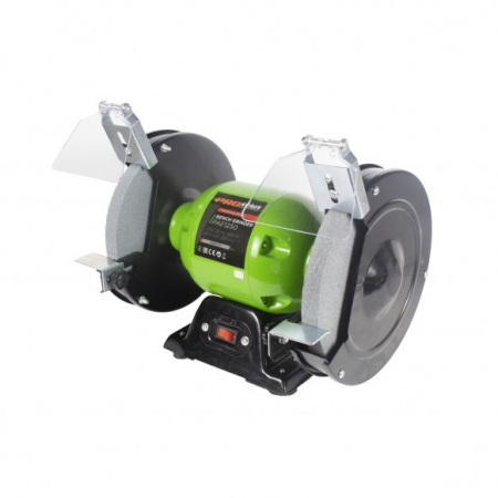 Polizor de banc Industrial PAE 1250, 200 mm, 1250 W, 2950 rpm, Procraft [0]