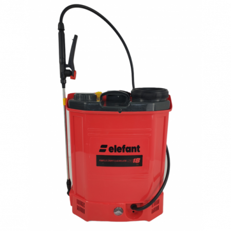 Pompa de stropit cu Acumulator Elefant SE18L, Volum 18l, 12V/8Ah, 3 tipuri de pulverizare [0]