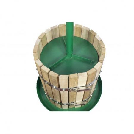 Presa / teasc struguri VIlen, 30 L, cu Filet, Lemn de stejar [1]