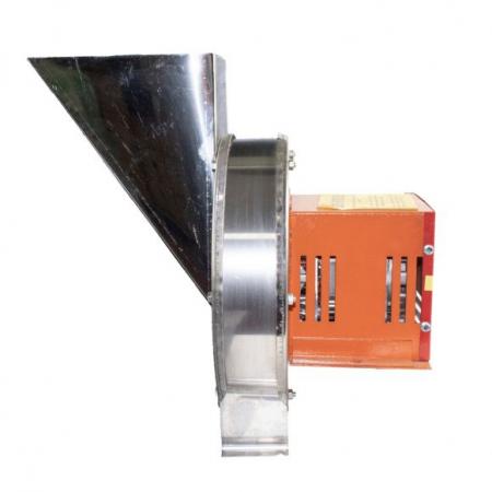 Zdrobitor Tip Razatoare electrica Vinita, 1.8 kw, Carcasa Inox, Legume si Fructe, Radacinoase, 1500 rpm [3]