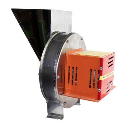 Zdrobitor Tip Razatoare electrica Vinita, 1.8 kw, Carcasa Inox, Legume si Fructe, Radacinoase, 1500 rpm [2]