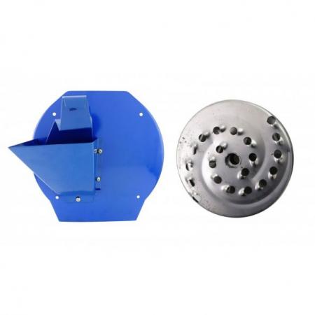 Uruitor cereale Mogilev MKZ-240 Cuva Mare, moara electrica 3.5 kW, 2850 rpm + site [3]