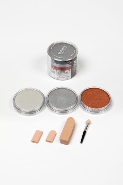 PanPastel Color Metallics Silver Copper / 3 set 1