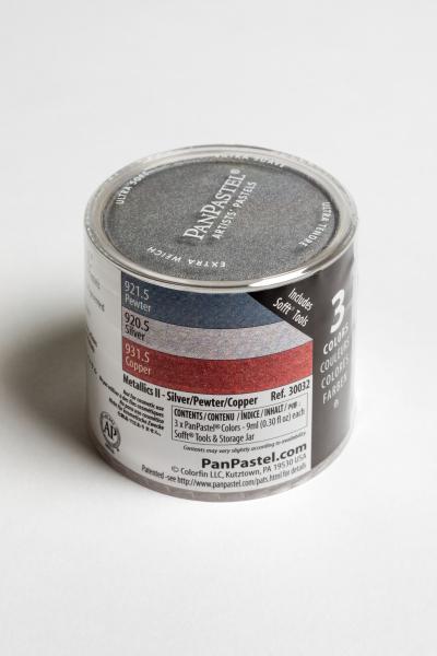 PanPastel Color Metallics Silver Copper / 3 set 0