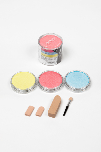 PanPastel Color Pearlescent Primary / 3 set 1