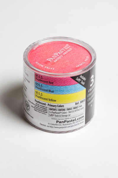 PanPastel Color Pearlescent Primary / 3 set 0