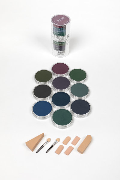Extra Dark Shades (10*Panpastel/Soft Tools/Storage Jars) 0