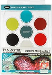 PanPastel Exploring Mixed Media 1/ set 7 colors1