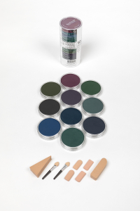 Extra Dark Shades (10*Panpastel/Soft Tools/Storage Jars)0