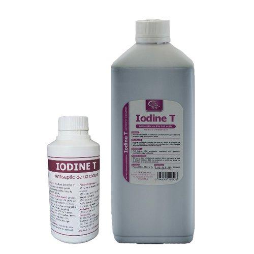 Antiseptic iodat pentru tegumente Iodine T 1L 0