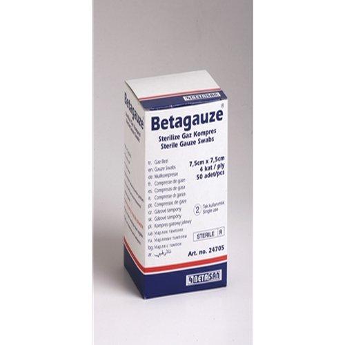 BETAGAUZE - COMPRESE STERILE DIN TIFON NETESUT (7,5cm x 7,5cm) [0]