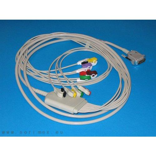 Cablu ECG pentru Cardioline Delta [0]