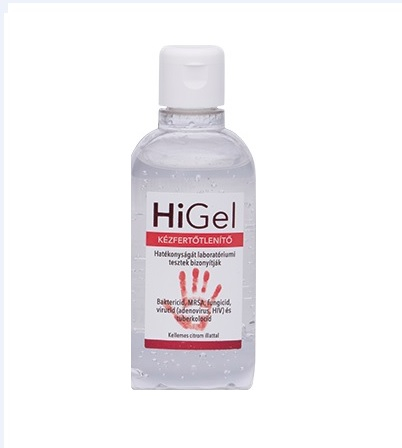 Dezinfectant de maini 100 ml HiGel 0