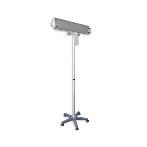 Lampa germicida 2x30W cu contor si ecran (suport mobil) 0
