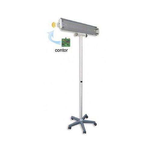 Lampa germicida 2x30W cu contor (suport mobil) 0