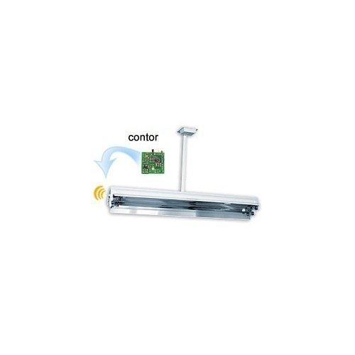 Lampa germicida 2x30W cu contor (tavan) 0