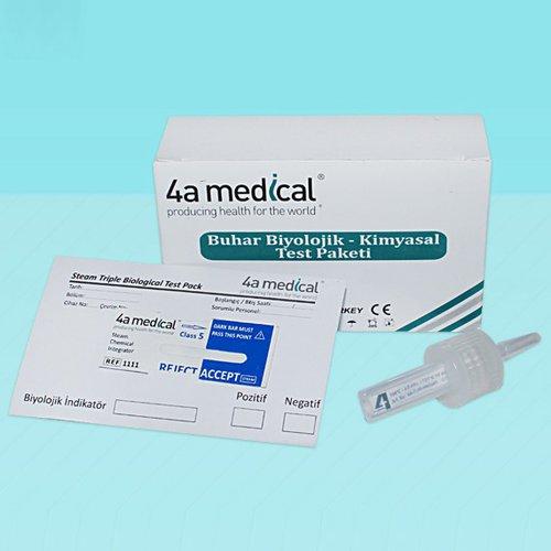 Pachet teste pentru sterilizarea cu aburi (clasa 5 si PCD) 0