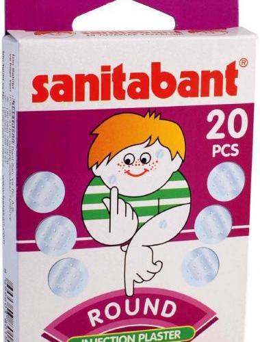 SANITABANT ROTUND - PLASTURI POST-INJECTIE (20 buc.) 0