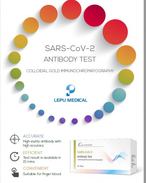 Teste rapide Anticorpi COVID-19 - KIT 20 teste 1