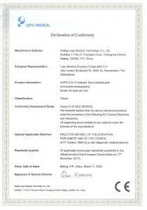 Teste rapide Anticorpi COVID-19 - KIT 20 teste2