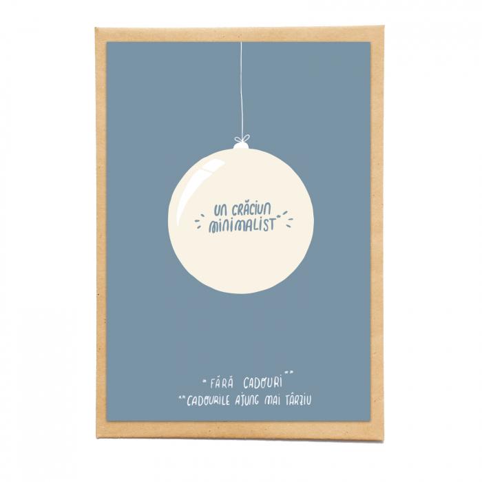 Cartolina - Un Crăciun minimalist, fără cadouri 0