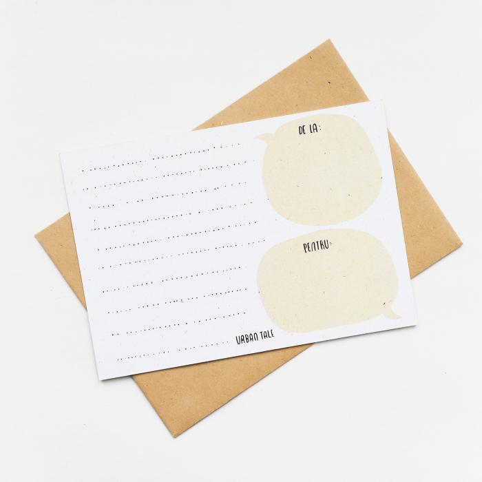 Cartolina - Mi-as imparti mancarea cu tine 2