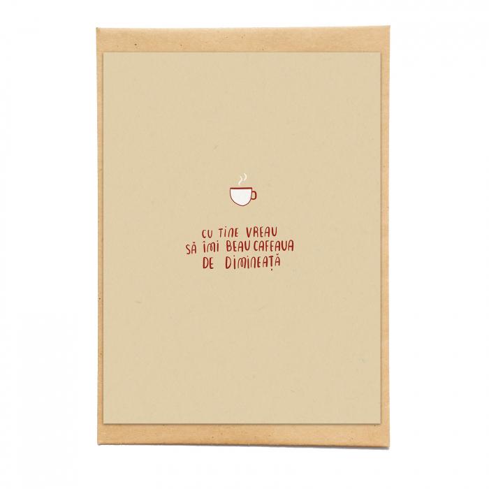 Cartolina - Cafeaua de dimineata 0