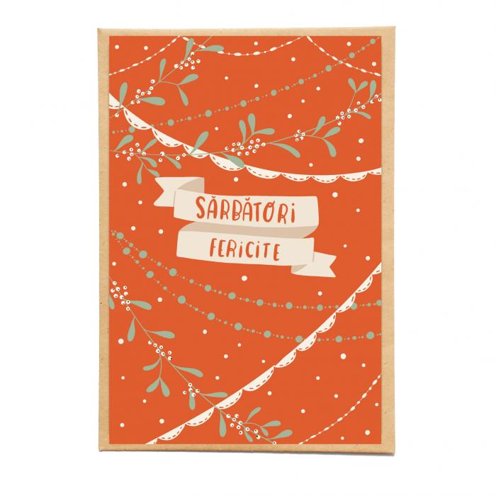 Cartolina - Sarbatori fericite 0