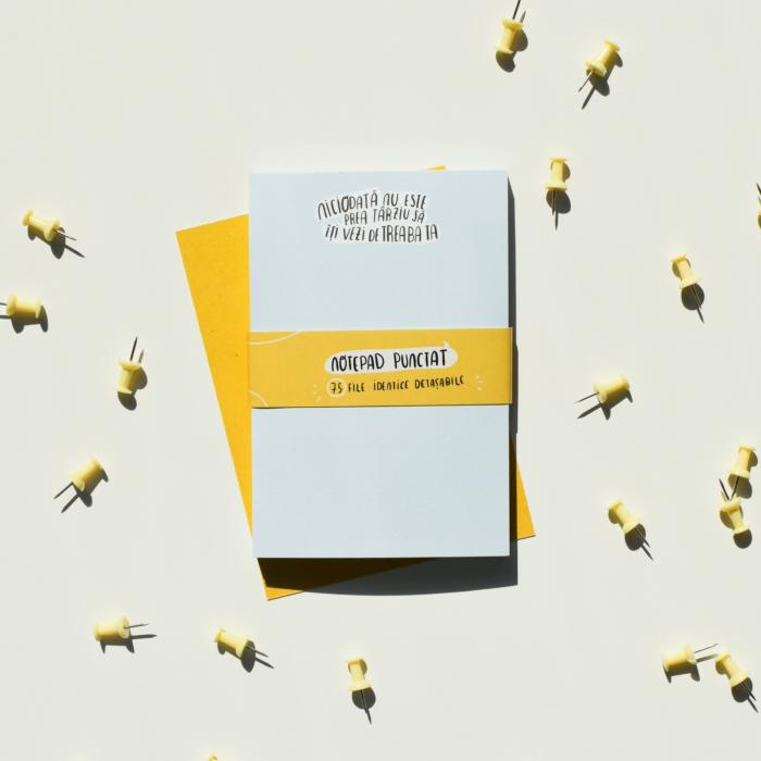 Notepad - Niciodată nu este prea târziu să îți vezi de treaba ta [1]