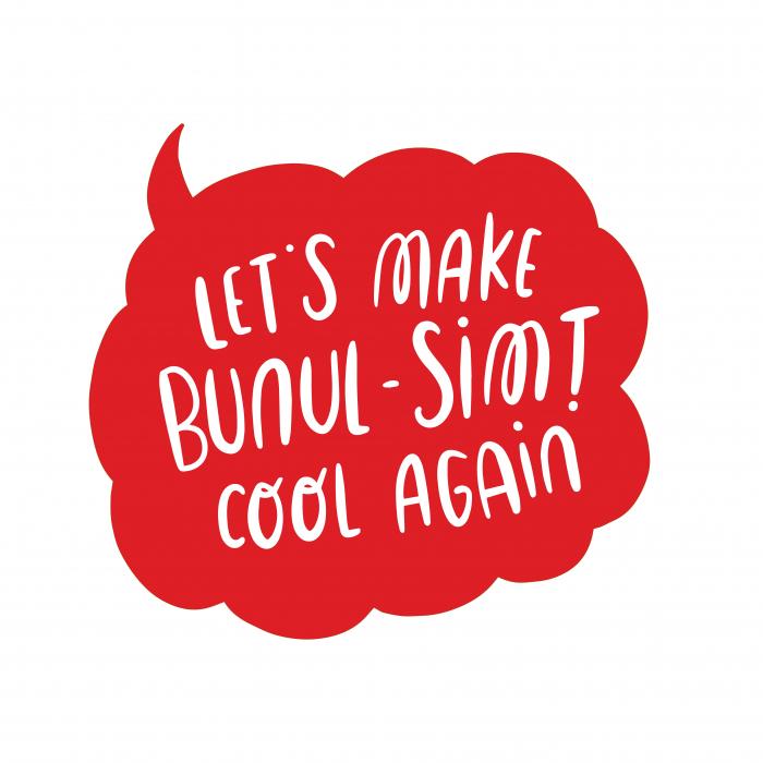 Sticker - Let's make bunul-simt cool again [0]