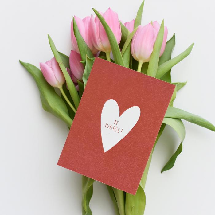 Cartolina - Te iubesc 1