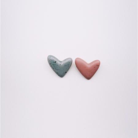 Broșă - Inimioară pistruiată [5]