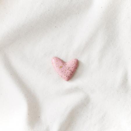 Broșă - Inimioară pistruiată [3]