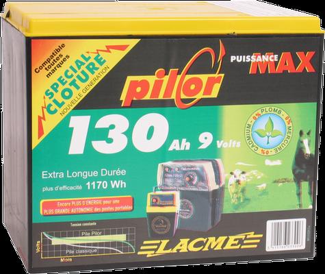 Baterie 9 V, 130 Ah pentru gard electric [0]