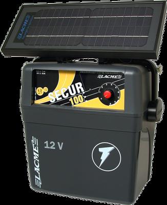Generator de impuls Lacme Secur 100 + panou solar 7.2 W [0]